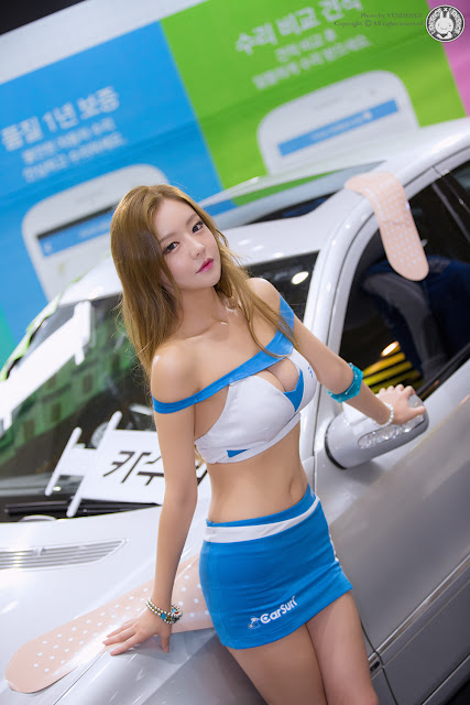 7 Yu Jin - 2015 Seoul Auto Salon - very cute asian girl-girlcute4u.blogspot.com