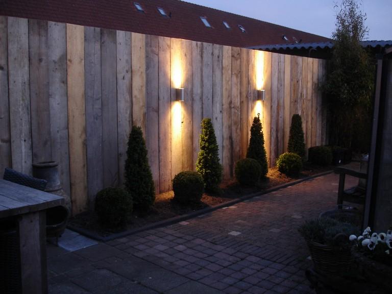 slaapkamer steigerhout behang  consenza for ., Meubels Ideeën