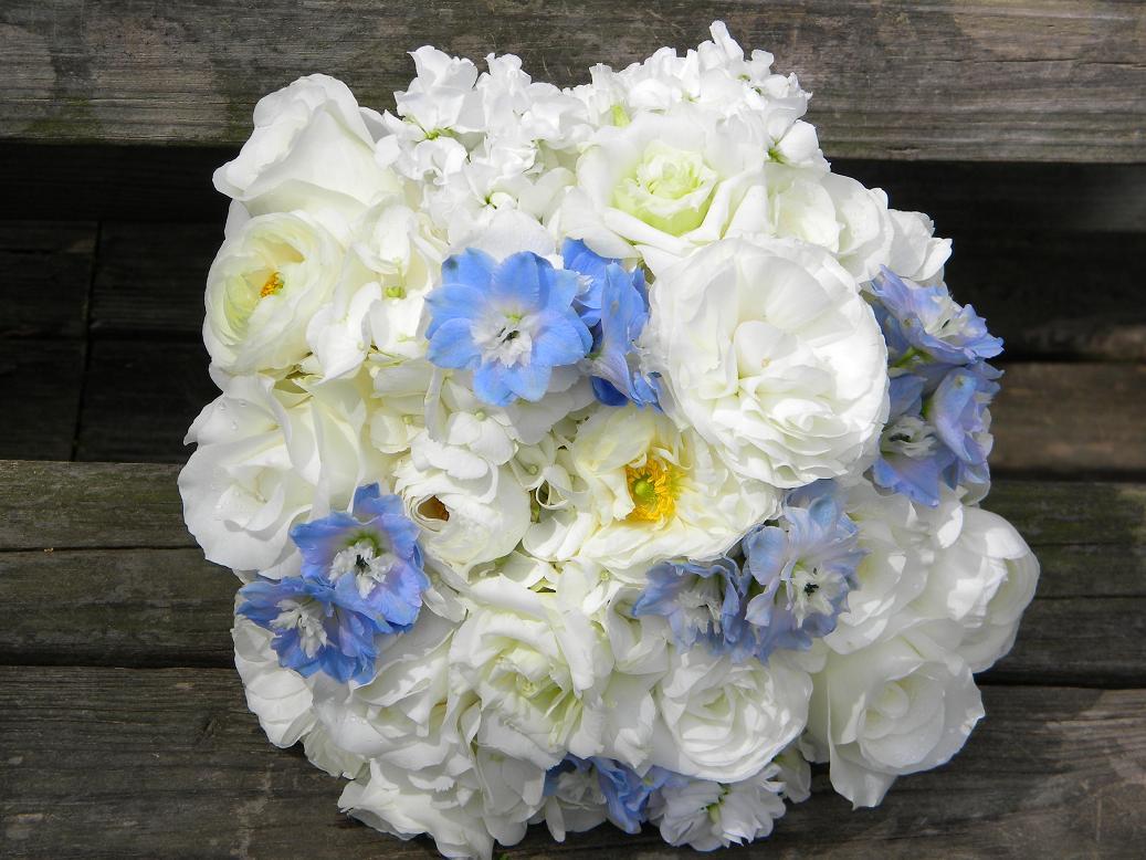 Wedding Flowers From Springwell Wedding Flowers Katies Bouquet In