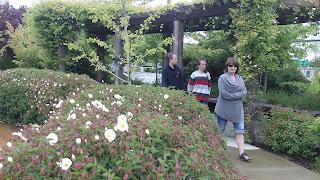 botanical gardens of Trinity Church Ashland Oregon