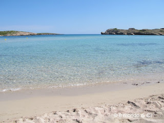 l'acqua cristallina sulla spiaggia di Son Parc