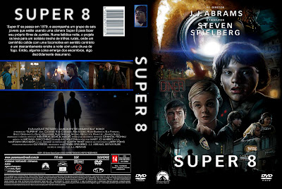 Super 8 DVD Capa