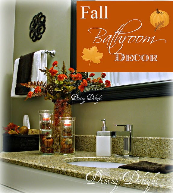 Decorating Your Bathroom For Fall : Dining delight fall bathroom decor