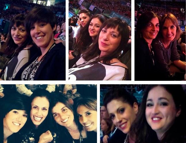 Lorena Guréndez, Tania Lamarca, Nuria Cabanillas, Estela Giménez, Estíbaliz Martínez, Marta Baldó, Maider Esparza, Niñas de oro 2014