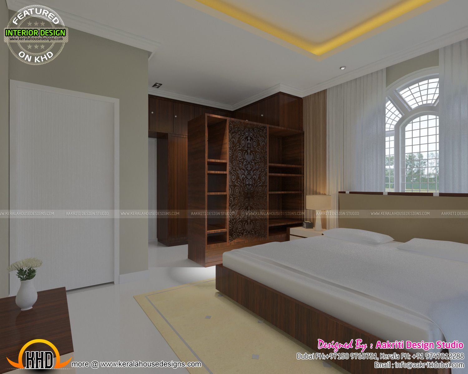 Master Bedroom Foyer Study Room Kerala Home Design And Floor Plans