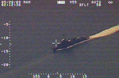 Kapal Perang Malaysia memasuki wilayah Nunukan NKRI