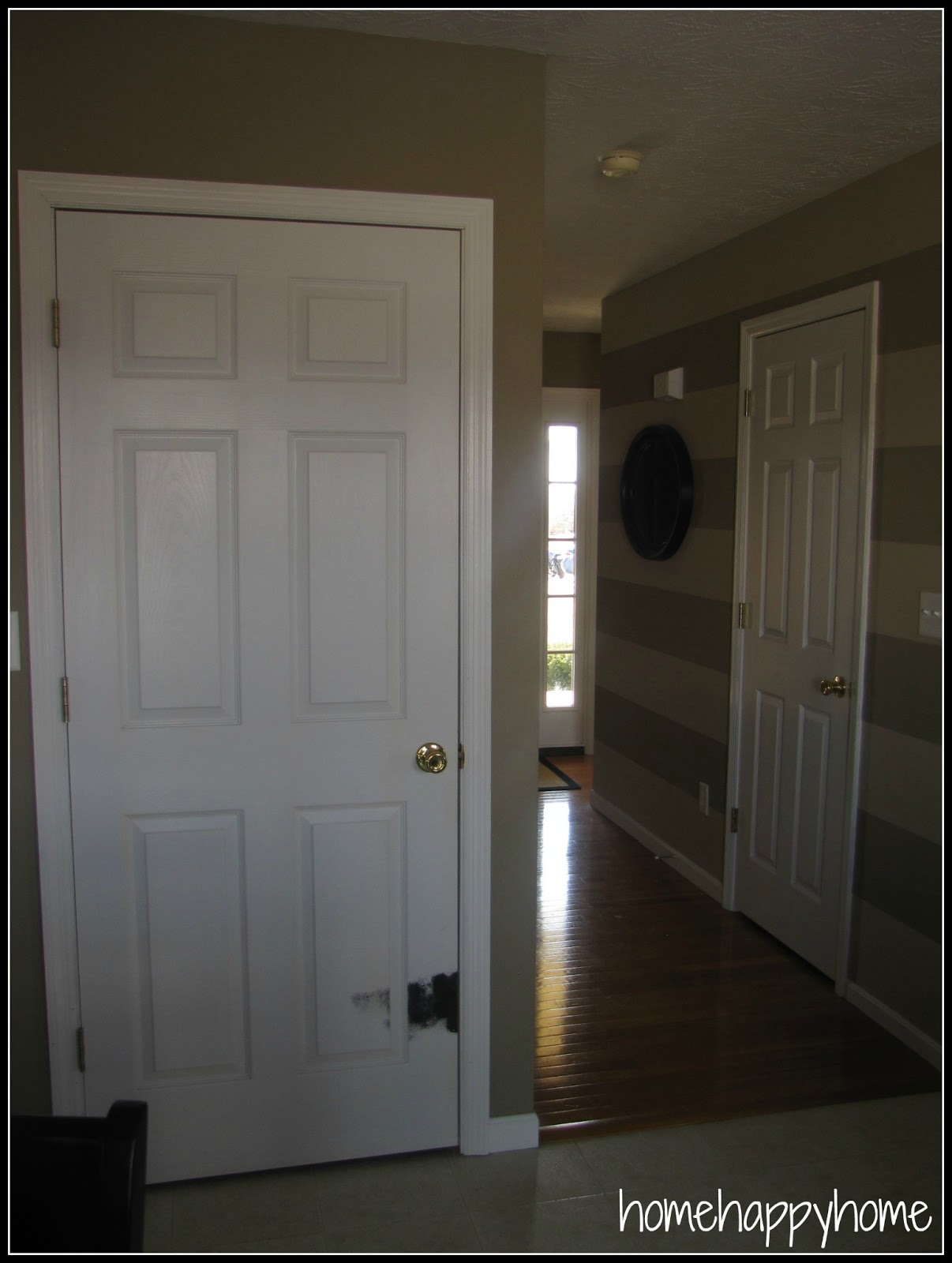black interior doors before and after here are some before and after. Black Bedroom Furniture Sets. Home Design Ideas