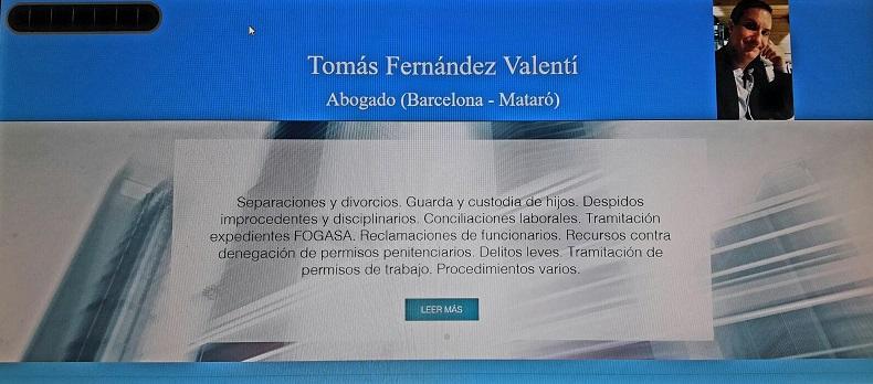 Tomás Fernández Valentí - abogado