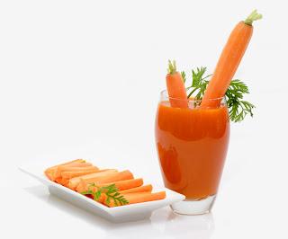 Jugo de zanahoria  para bajar de peso