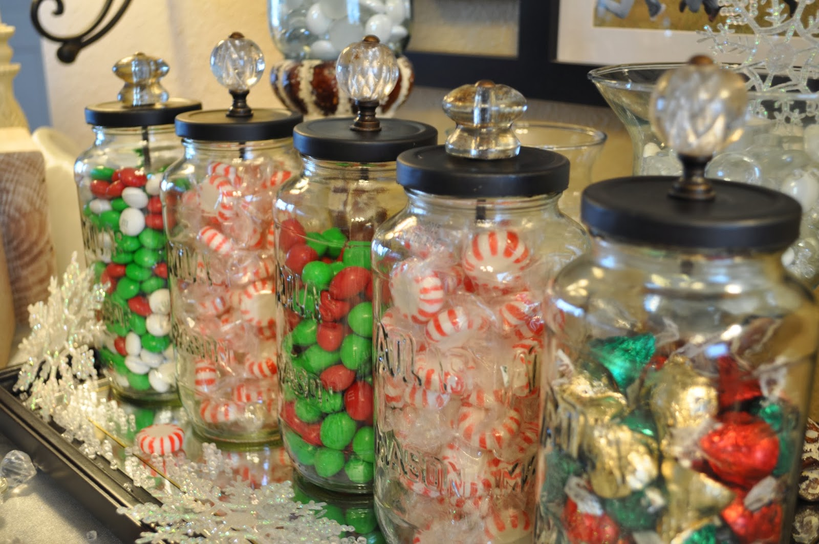 lisas scribbles blog archive diy christmas candy jars