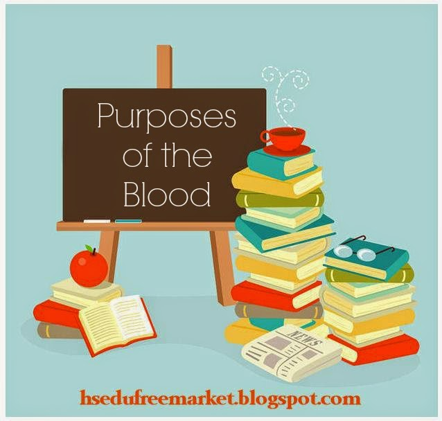 Homeschool Educational Free Market: Purposes of the Blood {Free Resources}
