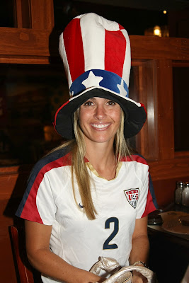US Soccer Player Heather Mitts