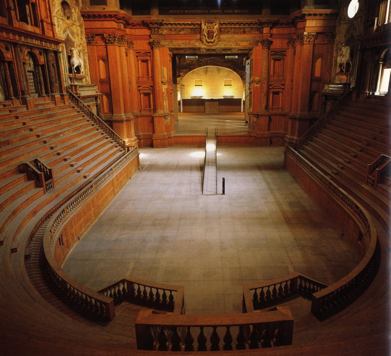 Teatro Farnese di Parma, Italia