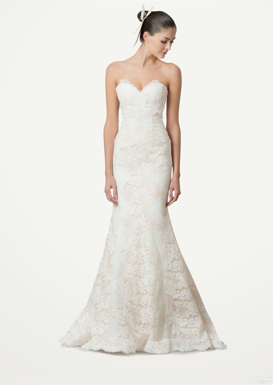 Carolina Herrera Bridal Fall 2015 Wedding Dresses