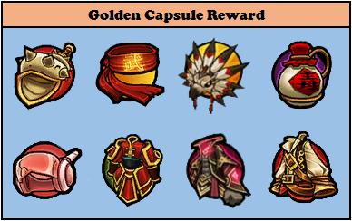 Golden Capsule Reward Lost Saga Indonesia