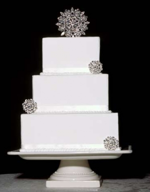 Wedding Cake Jewelry Decorations