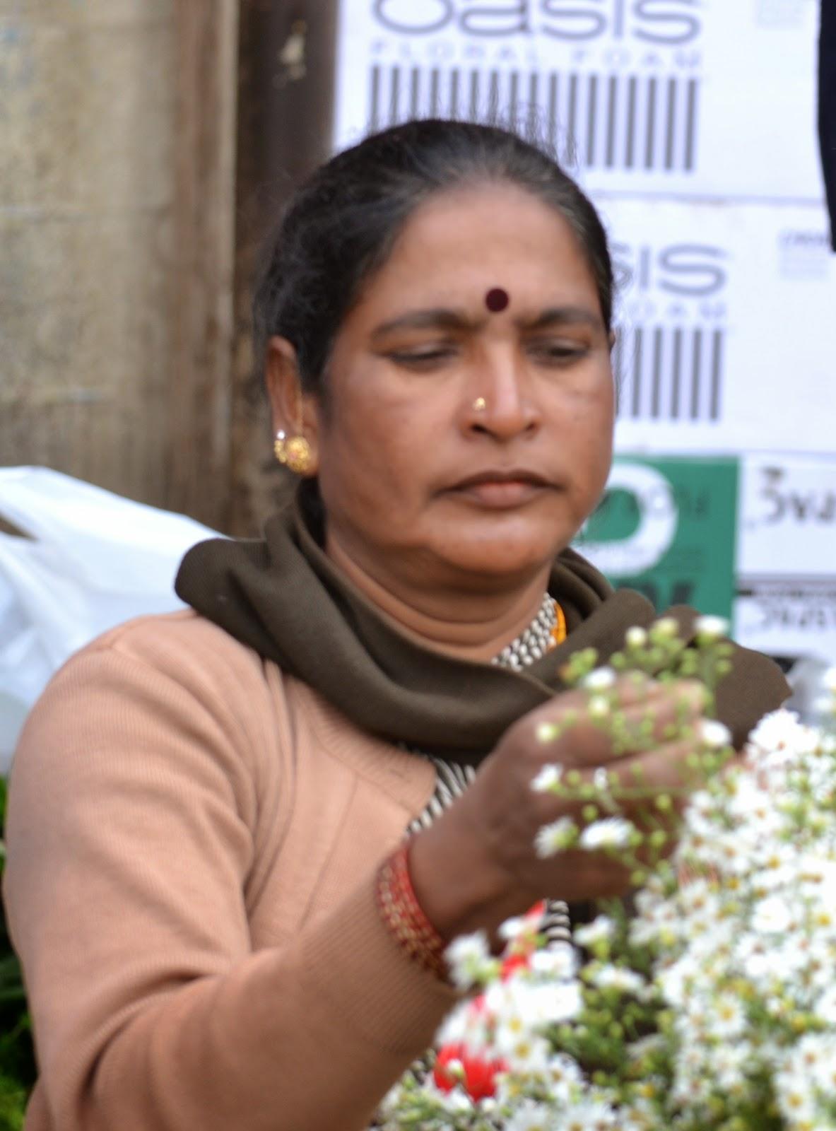 Bangalore Flower Market, K R Market