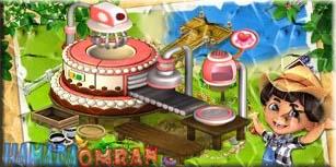 الة صنع الكعك المكتمله