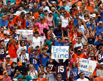 Tebow Fans Will Always Be There