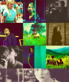 My Hunger Games obsession! Haha :D