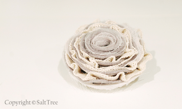 Layer Flower Layered Felt Fabric Flower