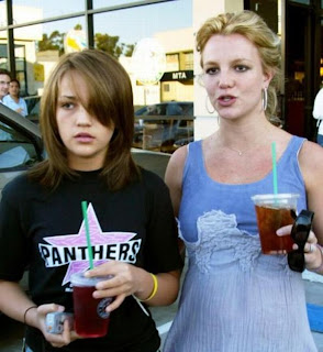 Britney Spears and her sister Jame Lin Spears