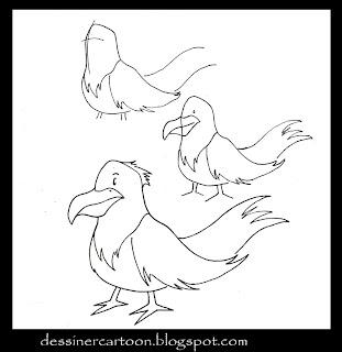 Dessiner cartoon november 2012 - Dessiner un oiseau ...