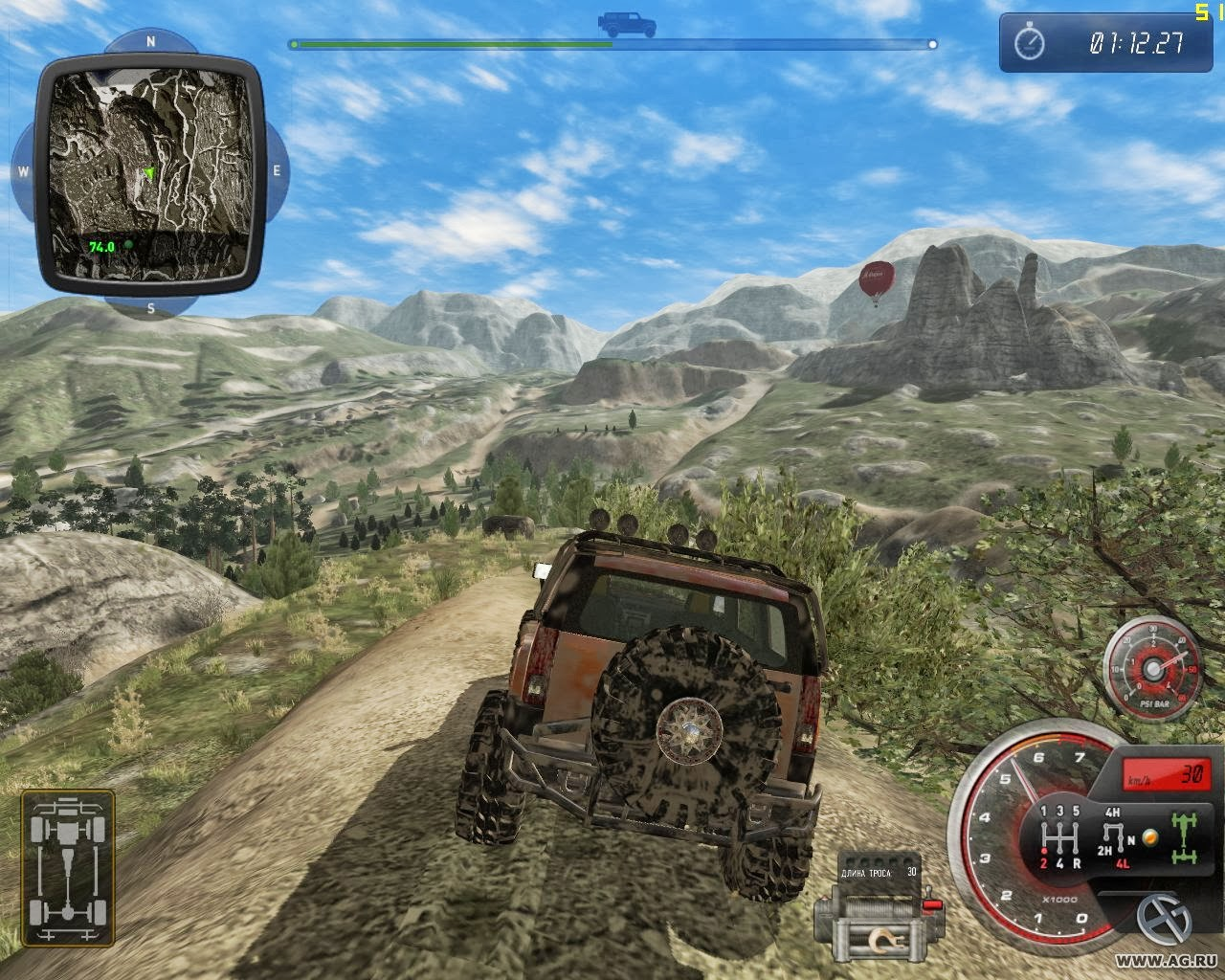 All Games And s: Download 4x4 Hummer 2012 PC Racing Game