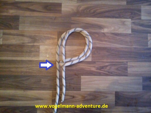 Sicherung Knoten HALB-MASTWURF-SICHERUNG - 3