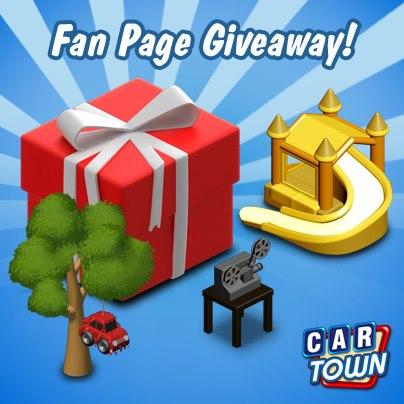 Code Promo Fan Page Giveaway II