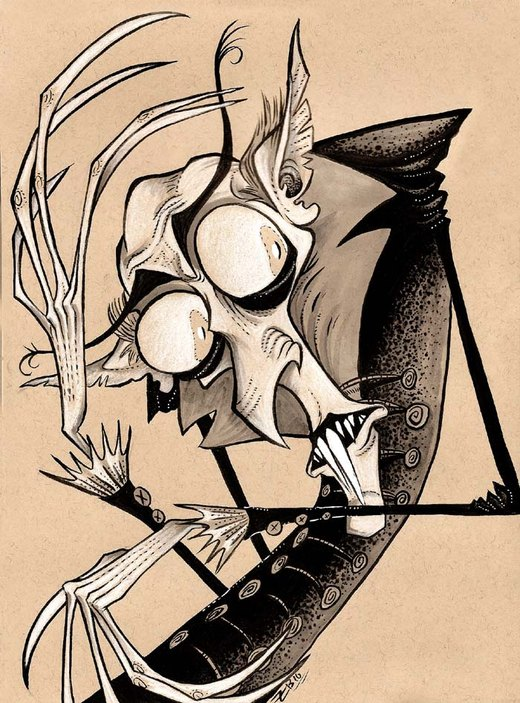 Nosferatu por SeizureDemon