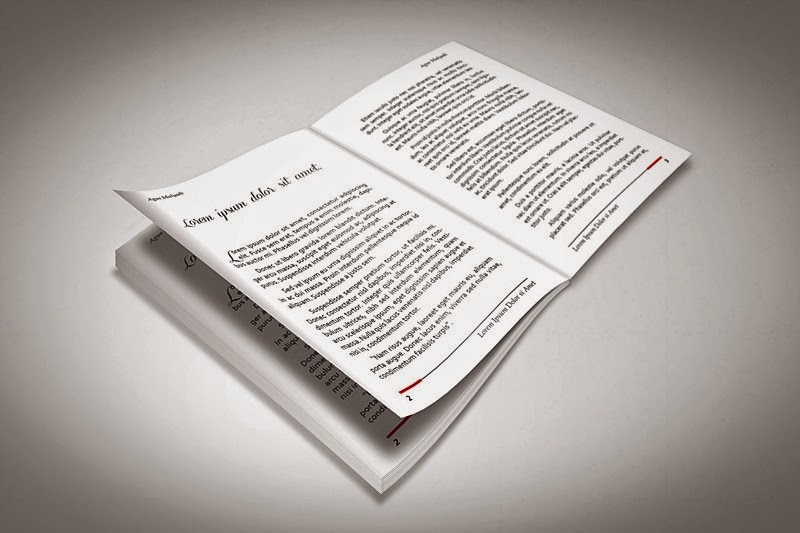 Free InDesign Book Template #1 (Novel) | Free InDesign Templates ...