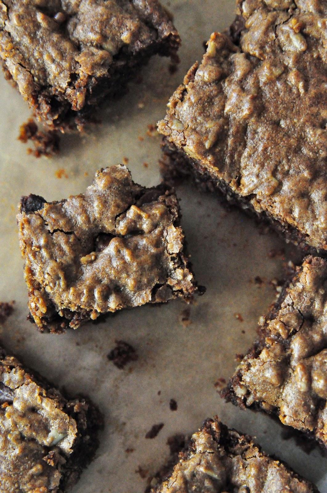 oatmeal brownie
