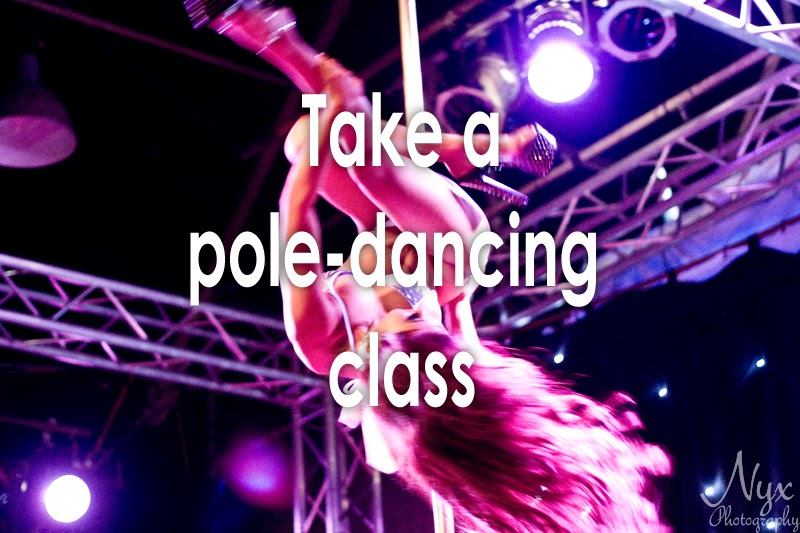 Bucket list: Take a pole-dancing class