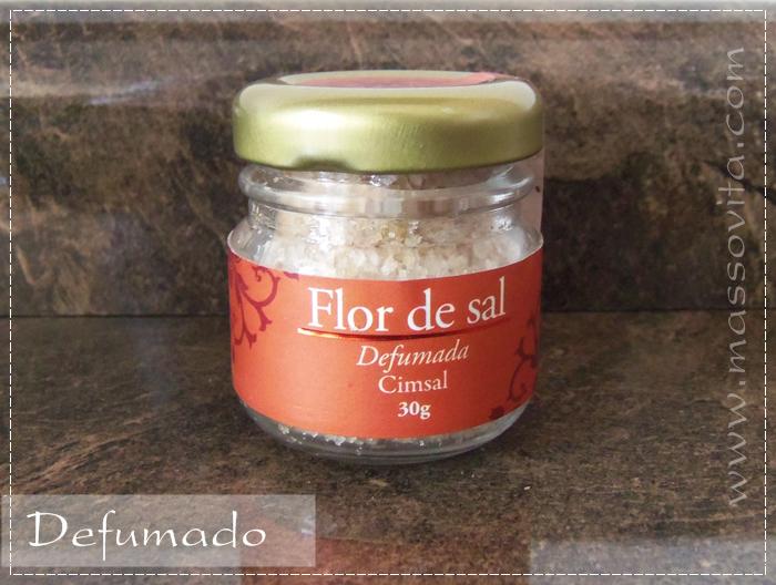 Flor de sal defumado