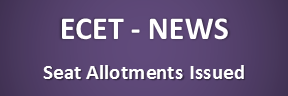 ECET Allotments Issued