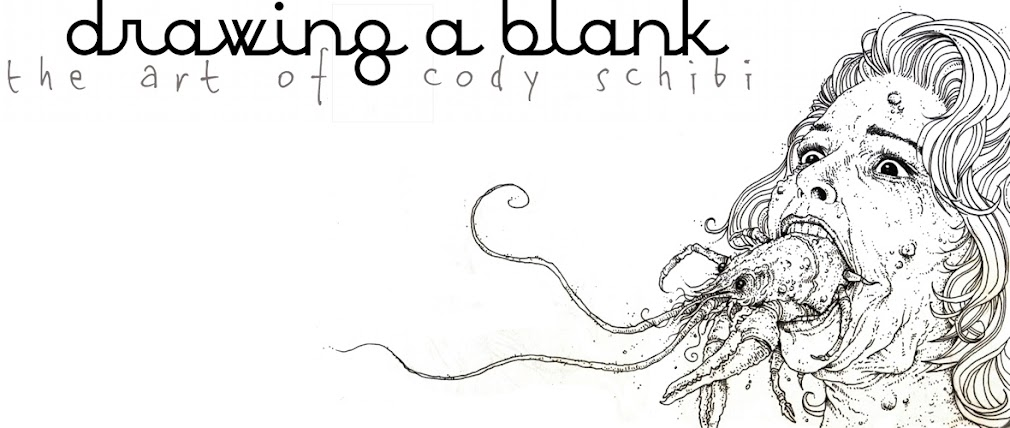 Drawing A Blank: The Art of Cody Schibi