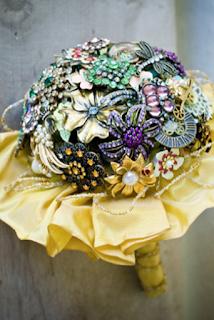 結婚花球由手飾做
