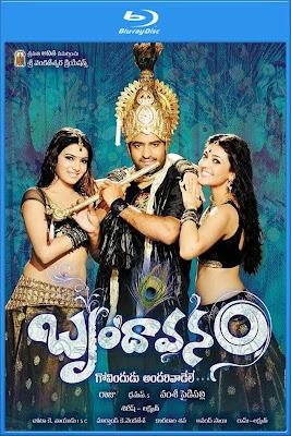 Brindaavanam 2010 BluRay 480p Dual Audio [Telugu Hindi] 500mb