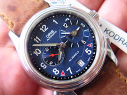 ORIS DUAL TIME BLUE DIAL - AUTOMATIC CAL.690 30 JEWELS