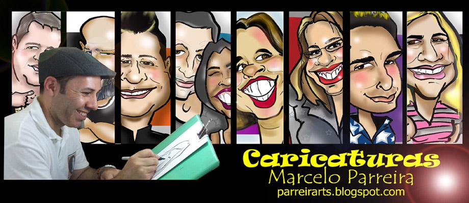 Caricaturas Marcelo Parreira