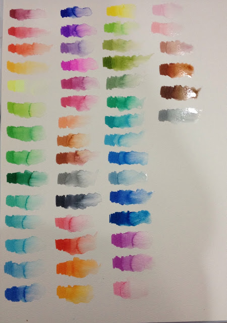 watercolor markers, Crayola markers, Crayola Supertip markers