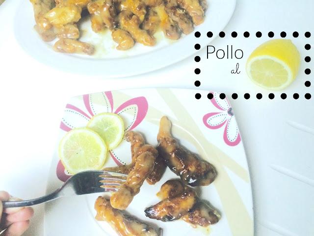 El blog de lorenna pollo al lim n - Pollo al limon isasaweis ...