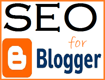 seo for blogger blogspot blogs logo