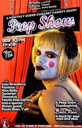 November's Peep Show