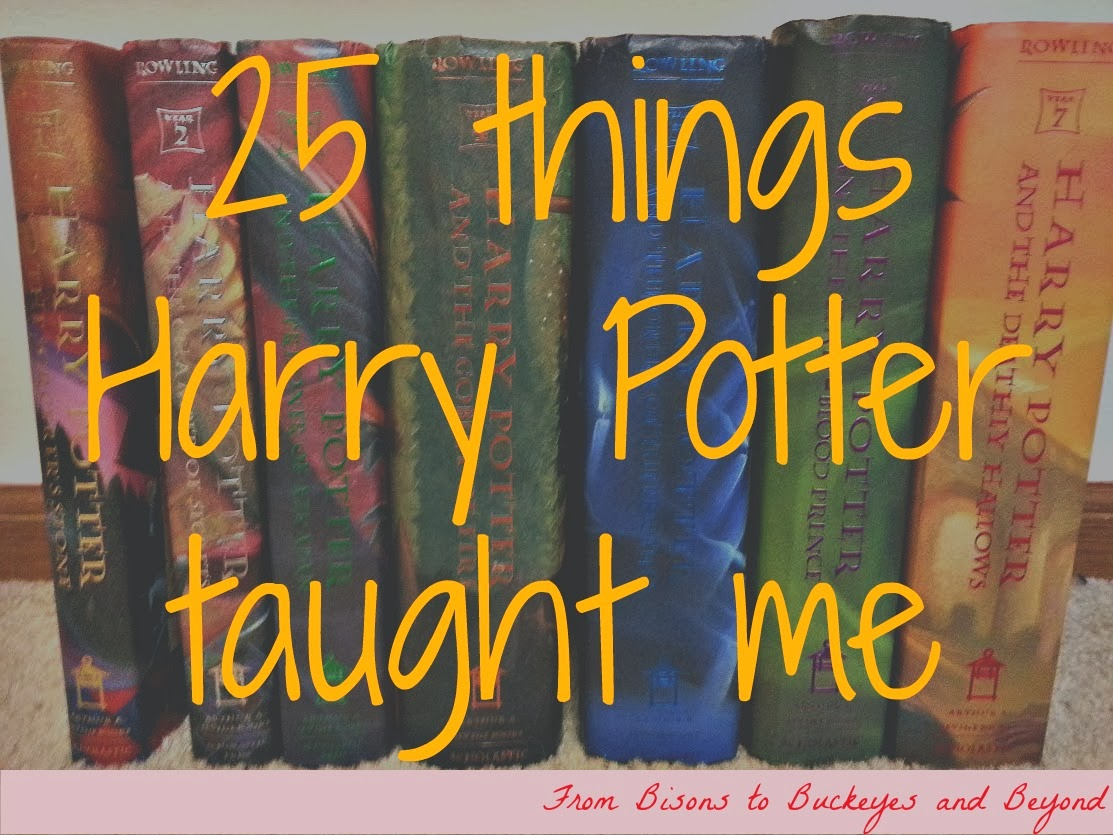 25 things harry potter taught me enduring all things. Black Bedroom Furniture Sets. Home Design Ideas