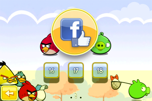 Game Angry Birds Hadir di Facebook
