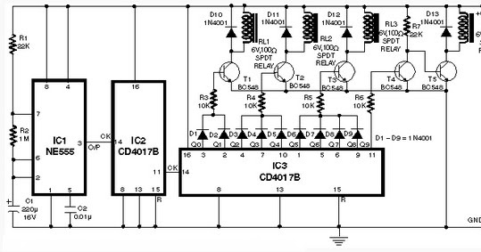 circuit schematic automatic speed controller for fans and