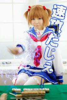 Hayase Ami Cosplay as Kataoka Yuki from Saki