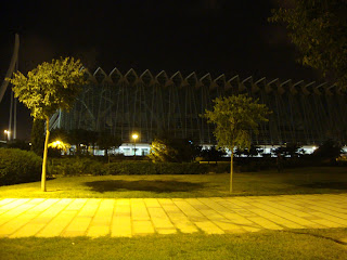 Valencia - City of Arts by night photos - Spain